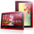 "christmas gift red 7 inch unlocked 8GB 7"" Android 4.0 A13 512M/DDR3 1.2GHz MID Wifi 3G Tablet PC Red"