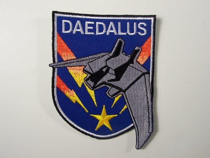 Stargate Atlantis TV Series Daedalus Ship Logo Patch