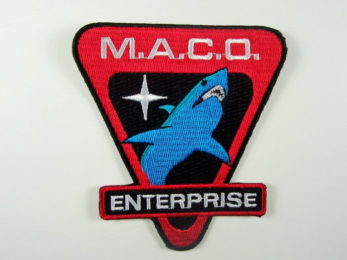 Star Trek Enterprise TV Series M.A.C.O. Shark Patch