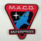 Star Trek Enterprise TV Series M.A.C.O. Shark Patch