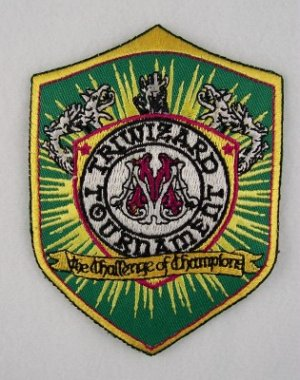 Harry Potter Tri Wizard Tournament Shield Logo Patch