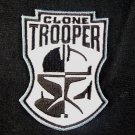 Star Wars Clone Trooper Mask Embroidered Patch