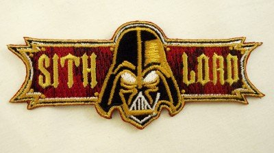 Star Wars Darth Vader Sith Lord Embroidered Patch