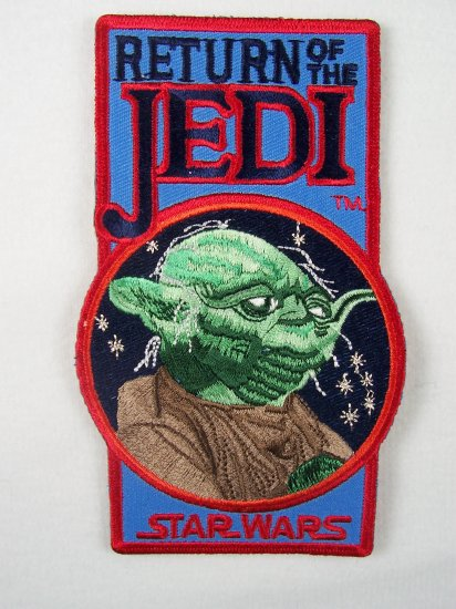Star Wars Yoda Return of the Jedi Logo Patch