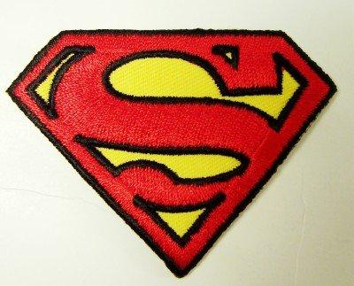 Superman S Logo Embroidered Shoulder Patch