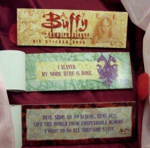 Buffy the Vampire Slayer Big Sticker Book