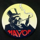 Batman Returns Penguin for Mayor Promo Pinback 1992