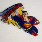 Superman Flying Figure and Name Logo 1950's Patch