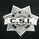 CSI: TV Series Las Vegas Police Logo Embroidered Patch