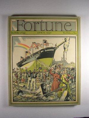 Fortune Magazine Vol 1 No. 3 April 1930 Ship Cover