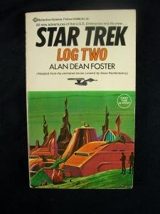 Star Trek Log Two autographed by Alan Dean Foster