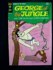 George of the Jungle #2 Gold Key Comics 1969