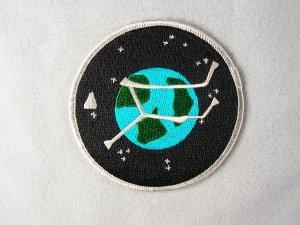 Stargate Atlantis TV Series Project Logo Planet Patch