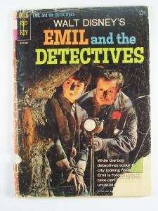 Disneys Emil and the Detectives Gold Key Comics 1964