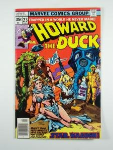 Howard the Duck #23 Marvel Comics 1978 Star Wars parody