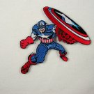 Marvel Comics Captain America Fighting Figure Patch