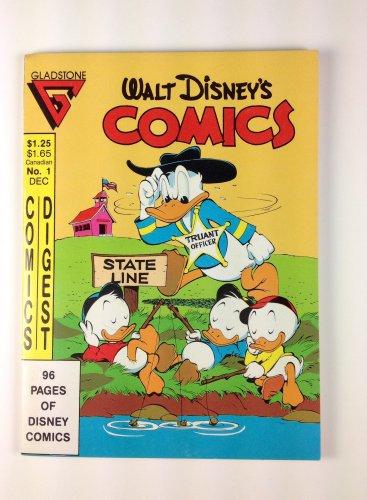 Walt Disney's Comics Digest #1 Dec. 1986