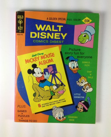 Walt Disney Comics Digest #50 Gold Key