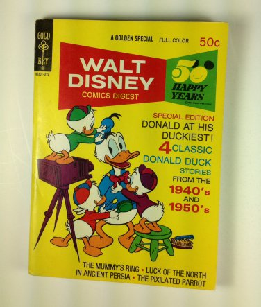 Walt Disney Comics Digest #44 Gold Key
