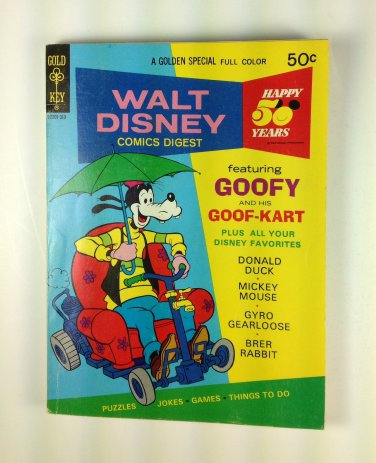 Walt Disney Comics Digest #43 Gold Key