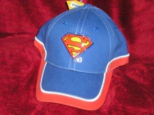 Brand New Superman Baseball Cap/Hat NWT