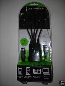 SIMA SUO-200M USB/FIREWIRE MULTI-ADAPTER CABLE