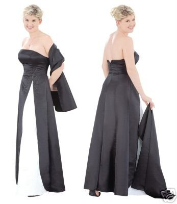 Elegant Gown for Bridesmaids, Prom or Cocktail Party. style # FGBA3003