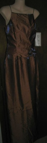 Elegant evening Gown for Prom or Cocktail Party.  Size 3/4