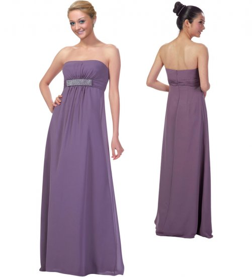 Strapless Formal Gown style # FGB8999