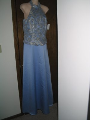 Elegant Gown for Prom, Pageant or Cocktail Party.  Size 10