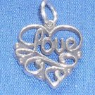 Love Heart Charm/Pendant