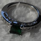 *Sale* 14K Emerald Ring ~ Size 7