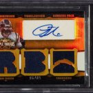 LaDainian Tomlinson Auto #/9  HOF 2006 Triple Threads Autographed Relics Gold #TTRA6 Chargers BGS