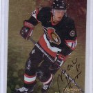 1998-99 Marian Hossa Be a Player 'Gold' Autograph  Blackhawks, Penguins, Senators, Red Wings