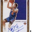Landry Fields 2011-12 Crown Royale RC Autograph Jersey #333 Knicks #80/99