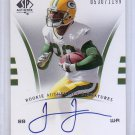 James Jones 2007 SP Authentic Rookie Signatures #/1199 Autographed RC Packers