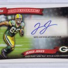 James Jones Autographed Raiders Packers 2010 Topps Peak Performance #PPA-JJ