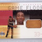 Scottie Pippen HOF 2000-01 Upper Deck Hardcourt Game Floor Game Relic #SPF Bulls, Blazers