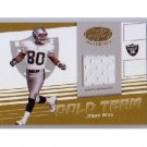 Jerry Rice #/150 2004 Leaf Certified Gold Team Jerseys #GT-12 49ers Raiders