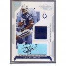 Reggie Wayne 2006 #12/25 Playoff 'Gold' Signature Proof Prime Jersey #49 Colts