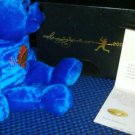 Duke Snider Autographed Hall of Fame Signature Bear w/C.O.A. Brooklyn Dodgers #/500