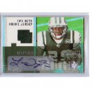 Leon Washington 2006 SPx Autographed Rc Jersey #210 Patriots, Seahawks #/1650