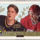Pavel Bure Valeri Bure Gold Autographed 1992 Classic #pvb #/6,000 Canucks Rangers Canadiens