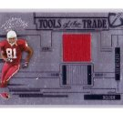 Anquan Boldin 2005 Playoff Tools of the Trade Jersey #TT-5 49ers, Ravens, Cardinals #32/50