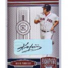 Kevin Youkilis 2005 Donruss Signature Series Autograph #24 Yankees Red Sox White Sox