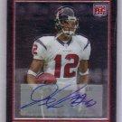 Jacoby Jones RC 2007 Bowman Chrome Autograph #BC105 RC Ravens, Texans
