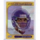 Randy Moss 1999 Stadium Club Chrome Eyes of the Game #26 Vikings, Patriots, Raiders, 49ers