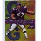Ray Lewis Ravens 2000 Topps Chrome Own the Game Insert #OG27
