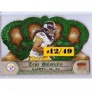 Troy Polamalu #/49  Steelers 2012 Crown Royale Emerald SP #22