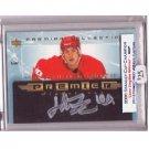 Henrik Zetterberg Red Wings 2003-04 UD Premier Collection Signatures PS-HZ